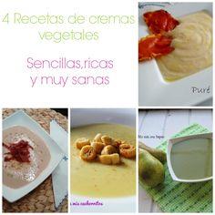 Para estar por casa: 4 recetas de cremas vegetales: sencillas, ricas y muy sanas