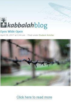 Eyes Wide Open  #kabbalah #kabbalahinfo #eyes http://www.kabbalahblog.info/