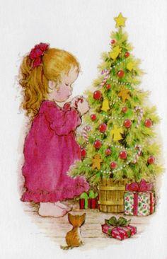 Adornando el arbol de navidad - Sarah Kay