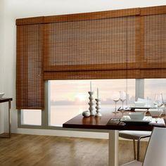 Tahiti Bamboo Roman Shade/Bamboo/Roman/Shades/Windows Bouclair.com