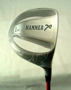 Hammer X Driver Right Hand W/ Instruction book by Jack Hamm by Closeoutservices. $69.95. NEW HAMMER X DRIVER WITH SMASH FACTOR SECRETS BOOK BY JACK HAMM--6 TIME LONG DRIVE WORLD CHAMPION.  HAMMER X SPECS:  45-Inch Shaft 10 Degree Loft  Brand New Right Hand ------- We also have the left hand version in our store. Hit Farther and Straighter Large Club Head  Large Sweet spot Hit ball 10-30 yards farther than with old driver!! Smash Factor Secrets book includedNew in pla...