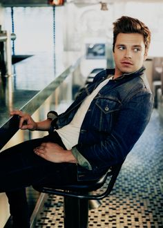 I love staring out the window. New York, it's like a candy jar - watching people is so phenomenal. Looking at [the couple at the next table] right now, you can tell so much by what they order or their body language. I just find that really fun. It's kind of like being a detective a little bit. - Sebastian Stan