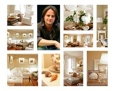 Designer Dad: Summer Whites : Dining Room into a Family Room