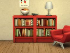 Mod The Sims: Intellectual Bookcases Recolours by plasticbox • Sims 4 Downloads