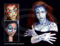 Lynne's FACEMAGIC Face Painter Body Artist Melbourne: Fantasy Body Painting Part 2