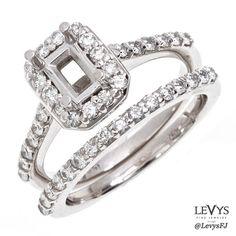 EN196-SETWG #jewelsbyirina #wedding #weddingset #bridalset #bridal