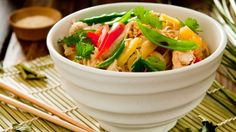 This board is about the Hot and Sour Soup dish. This soup is made with a mix of spicy and sour ingredients.
