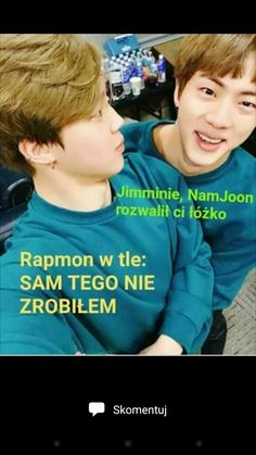 Widać po tytule co to będzie więc po co opis 😎💖 K Meme, Bts Memes, K Pop, Rapmon, Reasons To Smile, I Love Bts, About Bts, Namjin, Bts Pictures