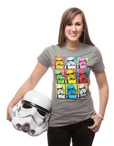Trooper Pop Art Ladies' Tee - Exclusive