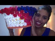 MANUALIDADES _ Como hacer una canasta con botellas recicladas - RECICLAJE - YouTube