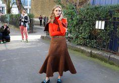 #London  #StreetStyle  #Koshchenets  Olivia Palermo in Pringle of Scotland
