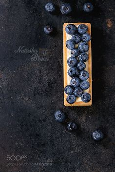 Baking: Tartlet with Blueberries