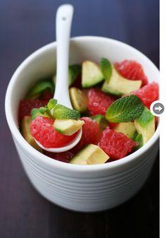 grapefruit avocado salad from @styleathome