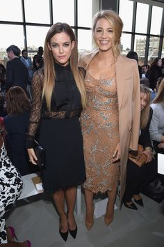 Riley Keough and Blake Lively