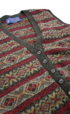 fair isle, good colours for tweed Fair Isle Knitting Patterns, Fair Isle Pattern, Knitting Designs, Knitting Tutorials, Vintage Knitting, Free Knitting, Sock Knitting, Wire Crochet, Crochet Granny