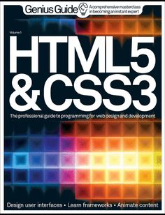 HTML 5 & CSS3 Genius Guide Volume 1. #css3 #html5 #css3book #html5book #css3instruction #html5instruction