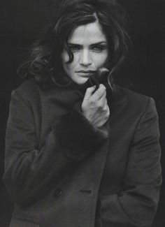 ☆ Helena Christensen | Photography by Peter Lindbergh | For Vogue Magazine Italy…