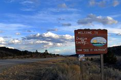 """Welcome to Chaffee County: """"Now THIS is Colorado."""" (en route to Salida)"""