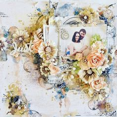 Hi there, I am so excited to share with you the latest mixed media mega kit from The Scrapbook...