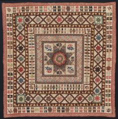 Pieced quilt, early XIXth cy. | Museum of Fine Arts, Boston