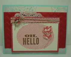 Klompen Stampers (Stampin' Up! Demonstrator Jackie Bolhuis): Oh, Hello