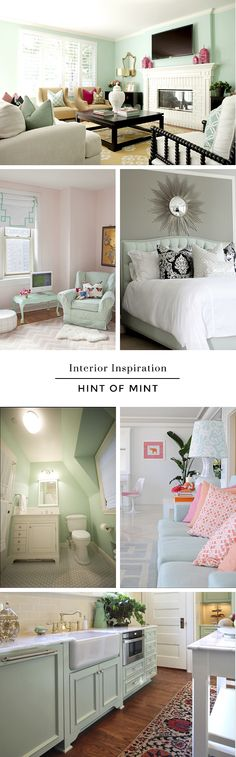 Interior Inspiration // Hint of Mint | His & Hers and the Dogs'