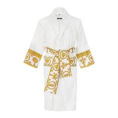 a016aeda9fa5 Buy Versace Home Barocco Robe Bathrobe - White