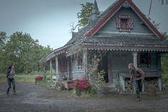 Emerald City- folk art house exterior