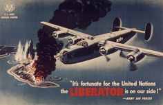 A B-24 Liberator promotional poster