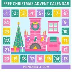FREE Christmas Advent Calendar!