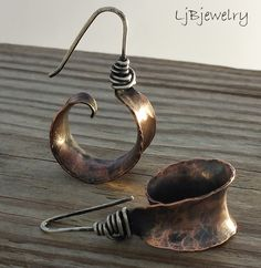 All sizes | Copper Hoops | Flickr - Photo Sharing!