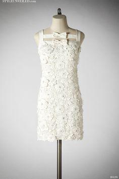 Style Unveiled | A Wedding Blog - Short White Wedding Dresses byBHLDN♥