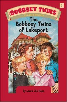 Bobbsey Twins 01: The Bobbsey Twins of Lakeport by Laura Lee Hope,http://www.amazon.com/dp/044843752X/ref=cm_sw_r_pi_dp_6NY4sb1D6SRHFNF0
