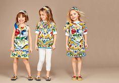 Dolce & Gabbana Children Girl Collection Fall Winter 2016 2017 | Dolce &…