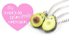 Yay for avocados ^__^ In this tutorial I show you how to make clay avocado charms that can be used for a friendship necklace. ▽~Tips and ideas~▽ -These charm...