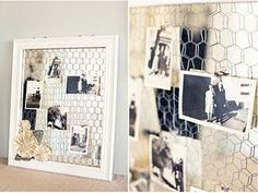 Window panes used here - but could use a large frame painted as well...cute as a button! @Karen Link Rutledge