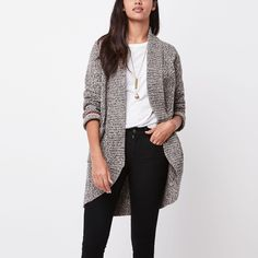 Roots Cotton Cabin Sweater Cardigan