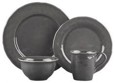 Crate and Barrel Hayes Dinnerware in Dinnerware Sets Kitchen Supplies, Kitchen Items, Kitchen Utensils, Contemporary Dinnerware, Slate Kitchen, Kitchenware, Tableware, Kitchen Collection, Dinnerware Sets