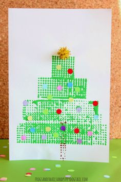 Christmas Tree Christmas Card on FSPDT Stackadoos printed cards