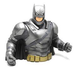 DC Comics Batman vs. Superman Batman Bust Bank Boy's Piggy Bank #Monogram