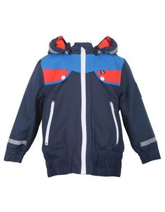 Donkerblauwe Skateboard winter jacket - Danefae - Pepatino.be