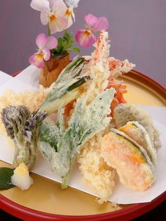 Tempura, one of the only reasons i may ever own a deep fryer.