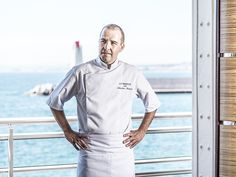 Executive Men Chef Jacket Long Sleeve Pen Pocket Catering Kitchen Uniform Adam