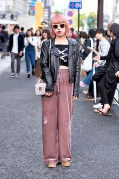 There is no better outfit inspiration than the street style at Fashion Week Tokyo