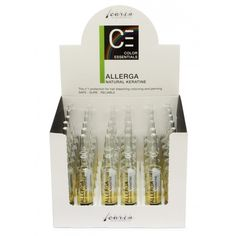 Carin Allerga keratine ampullen - 36 ampul x ml. Keratin, Shops, 5 Ml, Bleached Hair, Perm, Conditioner, Colors, Romania, Tents