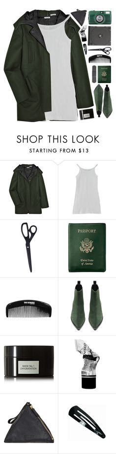 """wind down"" by via-m ❤ liked on Polyvore featuring Miu Miu, American Apparel, Royce Leather, Acne Studios, David Mallett, Aesop and Jil Sander"