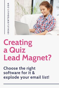 The search for the best online quiz creation tool stops here! In this article, I'll help you cut through the overwhelm and choose the best quiz platform for your lead generation quiz. About lead magnet quizzes, opt-in quiz, and the best quiz apps and quiz platforms.