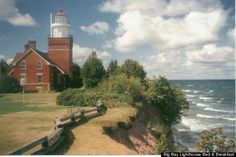 lighthouses michigan upper peninsula | ... The Aurora Borealis Northern Lights From Michigan's Upper Peninsula