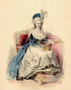 1788. Marie Antoinette