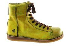 #Grünbein #Boots LOUIS Neon vintage grün